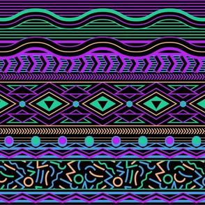 Memphis Stripe - Black