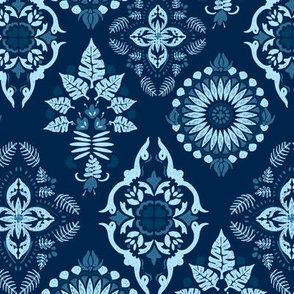 Morocco in Ice Blue