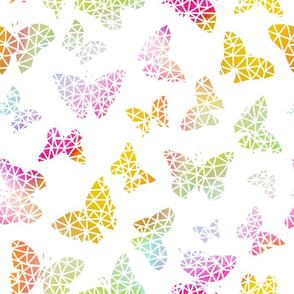 Butterflies Geo Rainbow 2