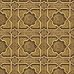 brass ceiling