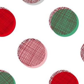Woven Dots - Christmas