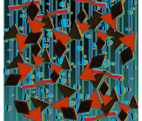 My_Memfis_style_pattern fabric by snarets on Spoonflower - custom fabric