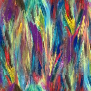 Rainbow Poem Scarf (includes poem)