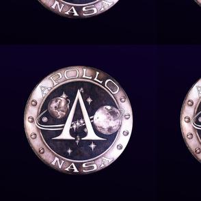 Deiselpunk Apollo Mission logo