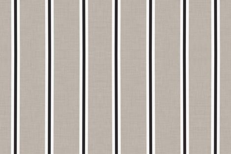 Grain Sack Fabric Black Stripe Vintage Runner Table