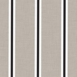 Farmhouse stripe french ticking stripe black white french gray modern farmhouse fabric grainsack feedsack