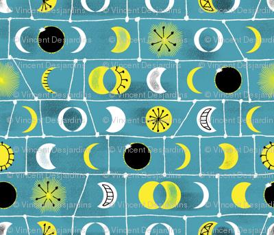 Eclipse mid century style