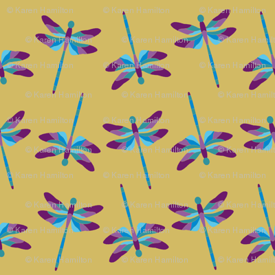 Dragonfly 1g Purple Blue
