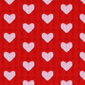 Small Red Hearts