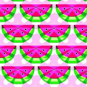 crisp watermelon slices