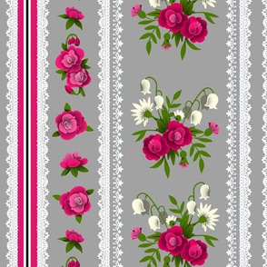 Small Rose Ticking 2