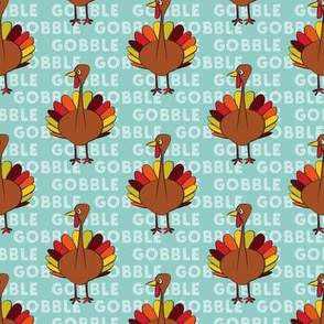 gobble gobble - thanksgiving turkey
