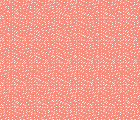 Coral Brush Strokes fabric by how-store on Spoonflower - custom fabric