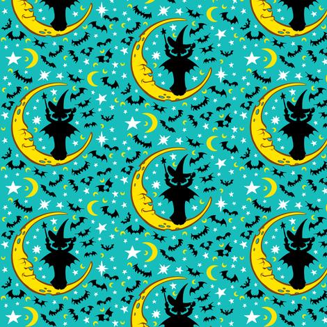 Witchy Sky 2 fabric by jadegordon on Spoonflower - custom fabric
