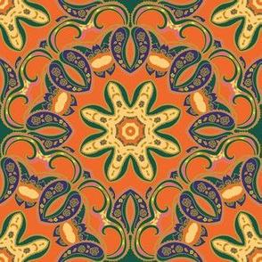 Ethnic ornament mandala pattern