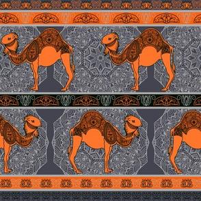 Orange camel