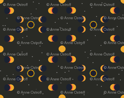 Solar Eclipse, View from Moon