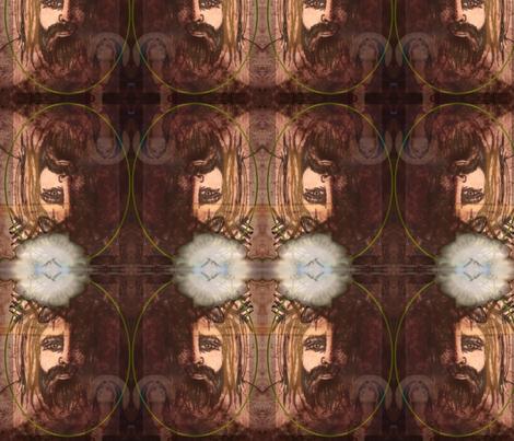 Jesus Christ Our Savior fabric by corner_designs_by_maryb on Spoonflower - custom fabric