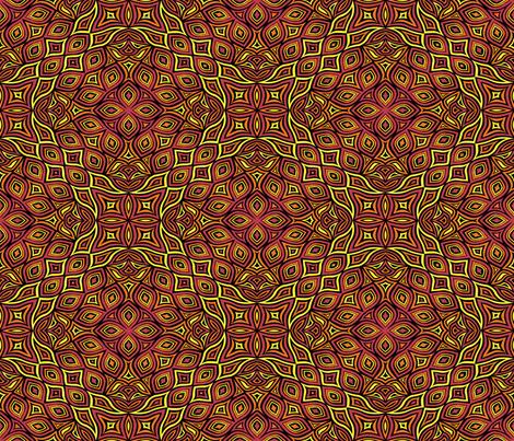 Fireflower fabric by artsytoocreations on Spoonflower - custom fabric
