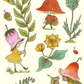 Wild Flower Fairy Folk