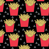 french-fries-with-red-box-on-black