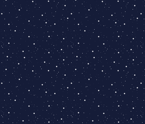 Space Blue fabric by chunkycatt on Spoonflower - custom fabric