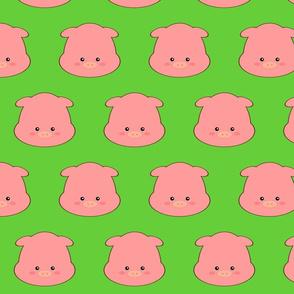 Piglet Green