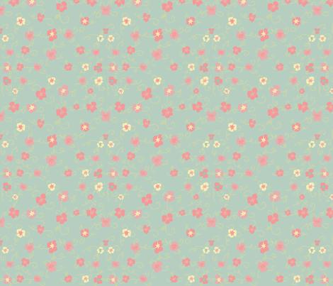 Southern Charm fabric by majoranthegeek on Spoonflower - custom fabric