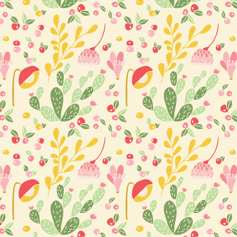 California dreaming - Medium fabric by thislittlestreet on Spoonflower - custom fabric