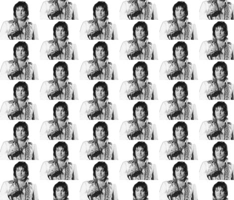 Fat Elvis fabric by sewjoyful on Spoonflower - custom fabric
