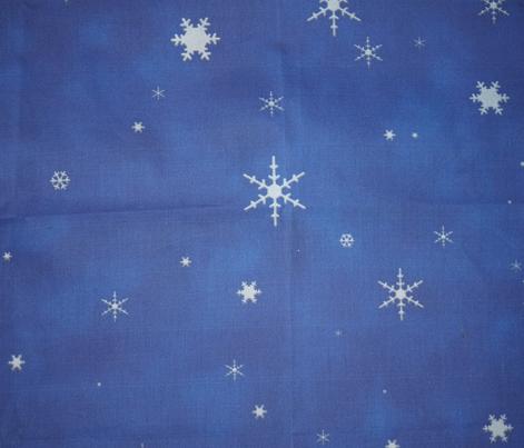 Snowflake Storm (Blue)