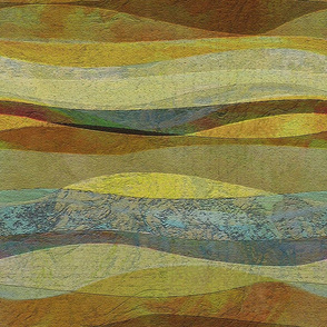 sandstone-mustard hills