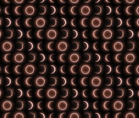 Solar Eclipse Matrix fabric by xoxotique on Spoonflower - custom fabric