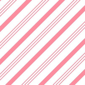 pink candy cane stripes