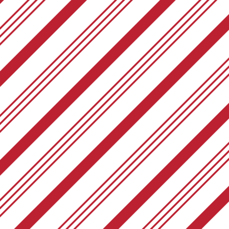 candy cane stripes - red on white fabric by littlearrowdesign on Spoonflower - custom fabric