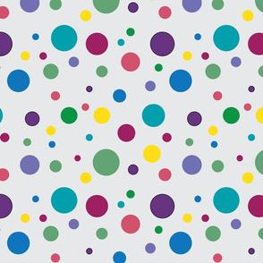 Lotsa Dots (Jewel Tones)