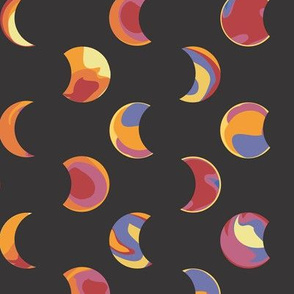 Fiery Eclipse
