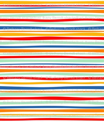 Circus Food Cart Stripes