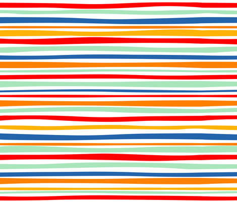 Circus Food Cart Stripes fabric by bzbdesigner on Spoonflower - custom fabric