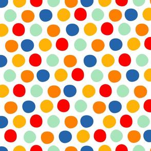 Circus Cart Polka Dots