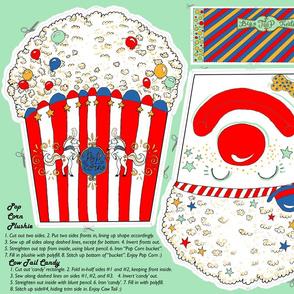 Circus POP-corn Plushie