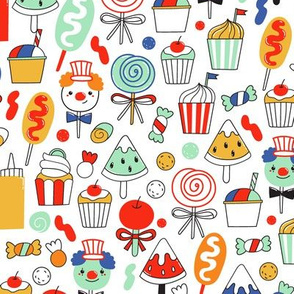 big top treats pattern