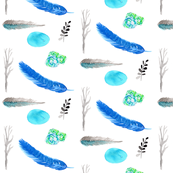 feathers_and_nature_spoonflower1