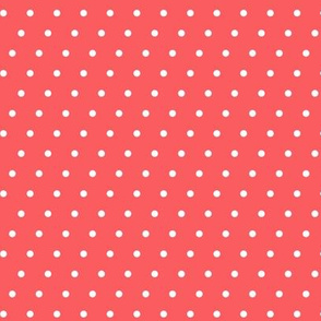 juice box polka dots -  red