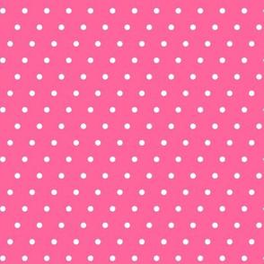 juice box polka dots - pink