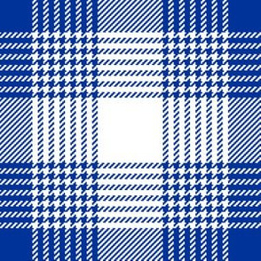 06627351 : shepherds tartan : blue + white