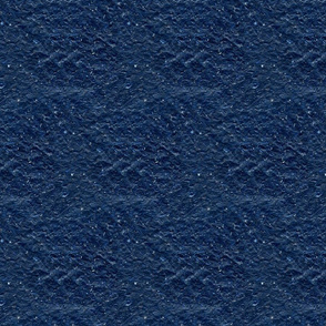 Navy Blue Textured Handmade Paper