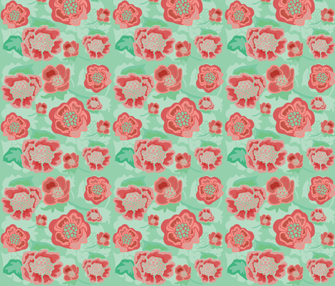 red_green_vector_floral_1__Converted___Converted___Converted_ fabric by artgirlangi on Spoonflower - custom fabric