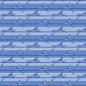 Rowing Stripe Blue