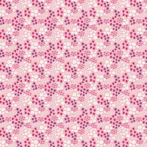 Sea turtles small // pink white trendy kids nursery baby girl sea bed starfish shells